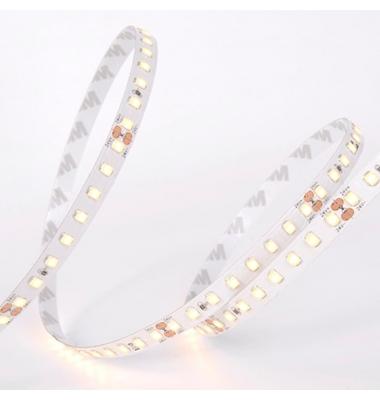 Tira LED Monocolor 8.7W/m. 24V, SMD2835, 159lm/w. 128 LEDs/m. Carrete 5 metros, Exterior, IP67, ET