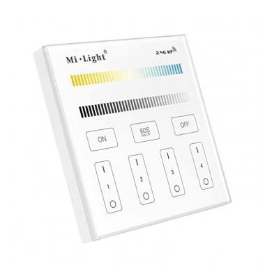 Mando Empotrable 4 Zonas CCT Táctil, 180-240V