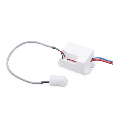 Detector Movimiento Empotrar Blanco 360º, 1200W, 230V