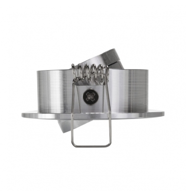 Foco Empotrar LED MINI, Basculante, 3W, Níquel Satinado. Blanco Cálido de 3000k, Ángulo 60º