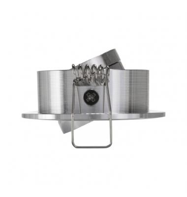 Foco Empotrar LED MINI, Basculante, 3W, Níquel Satinado. Blanco Natural de 4200k, Ángulo 60º