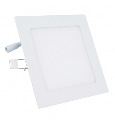 Panel Downlight LED Cuadrado Square 12W. Ángulo 120º