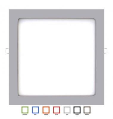 Aro Metacrilato Cuadrado Colores 300 x 300mm