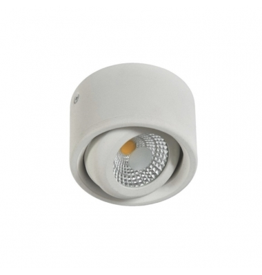 Luminaria de Superficie LED Guida, 6W. Blanco Mate, Ángulo 60º