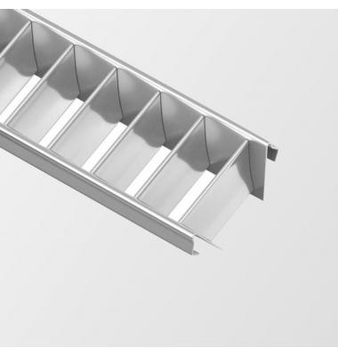 Difusor Aluminio Reflector tipo persiana, Perfiles Infinity, Couple, Neu, Chic, Sueke, 1 Metro