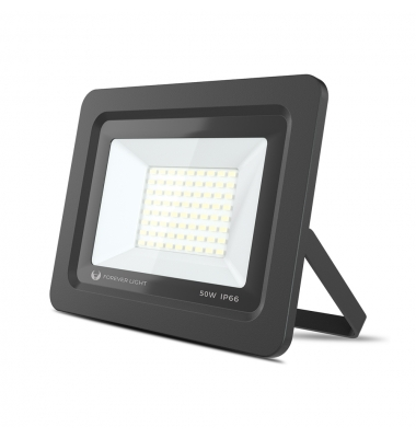 Foco Proyector LED SMD Proxim, 50W. Blanco Natural de 4500k. IP65