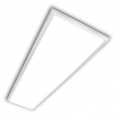 Panel LED 72W Offix, 120 x 60. 7200 Lm. Blanco natural de 4500k, Marco Blanco