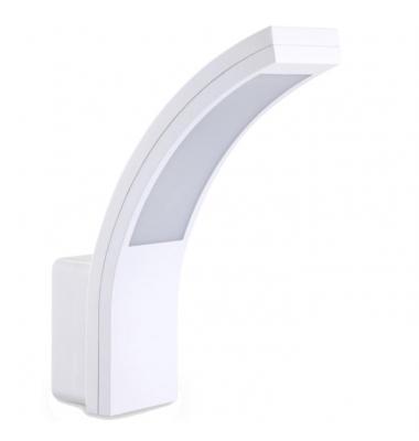 Aplique Pared Exterior LED Futura 15W. Blanco, Ángulo 120º, Blanco Cálido de 3000k