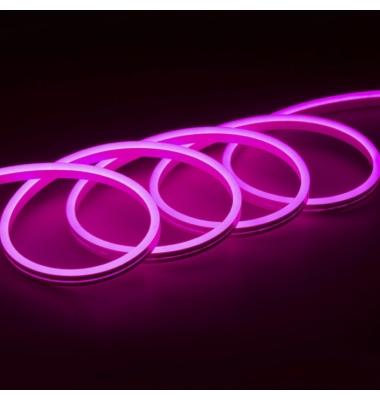 RGB Neon Tubo NS1020, 24V, 14.4W/m, Emisión Luz Lateral. 10 metros, IP67