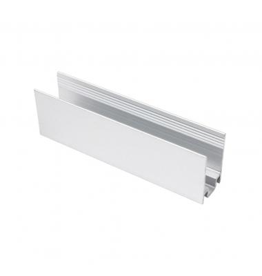 Clip de Fijación de Aluminio para Neon LED NS0816. Longitud 1 metro