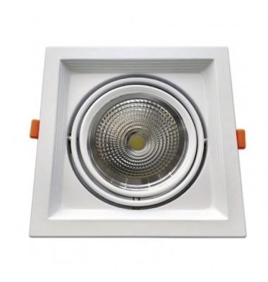 Foco LED Direccionable Traffic 18W. 2100 Lm. Ángulo 120º. Blanco Natural, 4000k