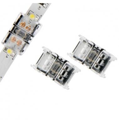 Conector sin Soldadura, Conexión Tira con Tira Monocolor de 8mm. IP20