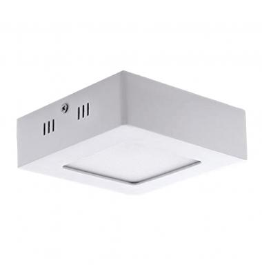 Foco Techo LED Square 6W - 520 Lm. Blanco Frío de 6000k. Ángulo 120º