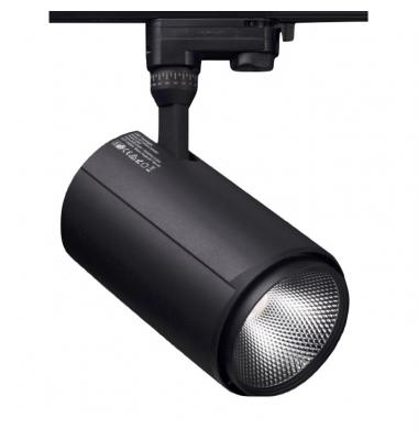 Foco Carril Altair, Negro Mate, LED Citizen 15W, 3 encendidos, Ángulo 36º