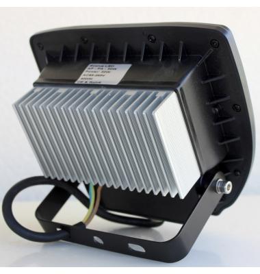Foco Proyector Magic, Negro Mate, LED Epistar 30W. Exterior, IP65