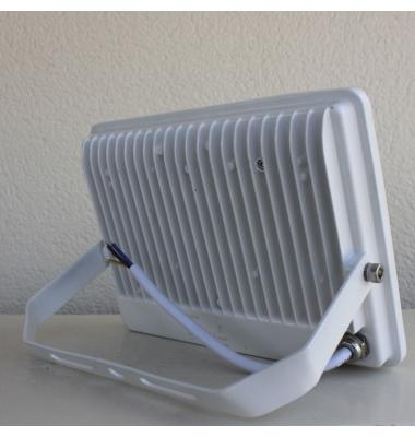 Foco Proyector Tablet, Blanco Mate, LED Epistar 20W, Exterior, IP67, Blanco Frío de 6000k