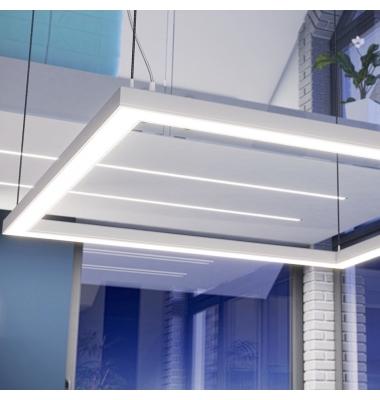 Perfil Aluminio de 2.02 metros, NEU, Superficie, Tiras LED máximo 30mm