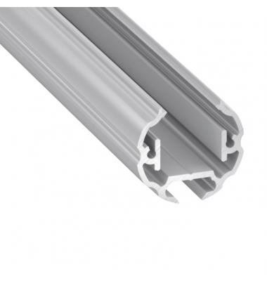 Perfil Aluminio de 2 metros, Armarios Closet, Tiras LED máximo 12mm