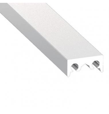 Perfil Aluminio de 2 metros, Montaje Metre 1, Para Perfil Closet