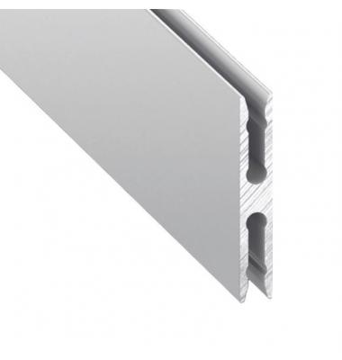 Perfil Aluminio de 2 metros, Montaje Metre, Para Perfil Closet