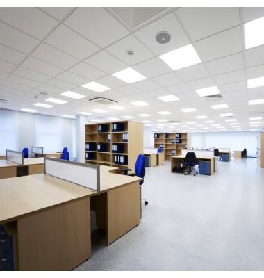 Panel LED 60x60. Offix, 48W, 3840 Lm. Blanco Frío de 6000k, Marco Blanco