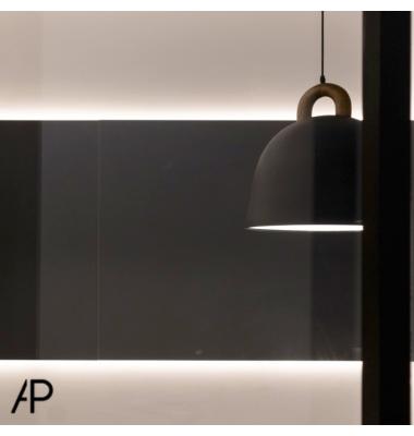 Perfil Aluminio de 2.02 metros, Superficie EVO, Tiras LED máximo 12mm