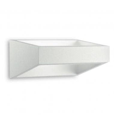 Aplique de Pared LED Mercury Blanco relieve 6W, 630lm. Ángulo 120º, 3000k. Exterior, IP54
