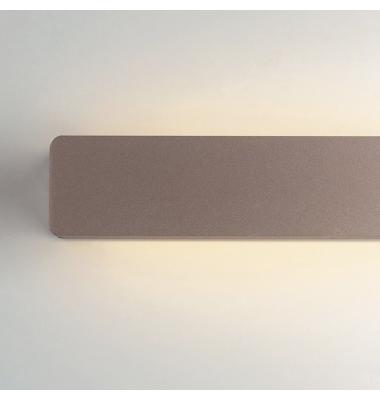 Aplique de Pared LED, AILERON, Bronce, Ángulo de Luz Ajustable,10W, Blanco Natural de 4000k