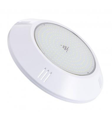 Foco Piscina Superficie, LED 18W, 1700lm, 12V, IP68, Blanco Cálido de 3000k