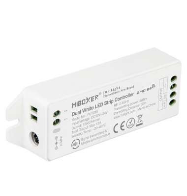 Receptor Controlador CCT, WiFi, 24V (288W), 12V (144W) MiBOXER, Mi-Light