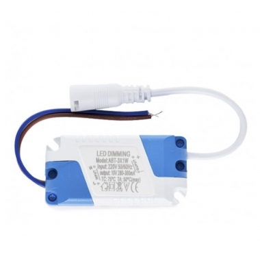 Driver Dimmable LEDs 3W, 280-300 mA