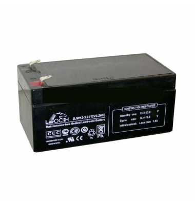 Bateria Plomo 12V, 3 Amperios. Alto rendimiento