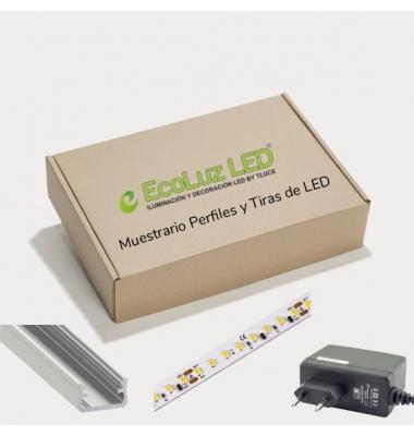 Muestrario Perfiles de Aluminio y Tiras LED