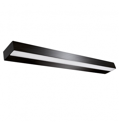 Aplique LED CYBER para espejos y cuadros, Negro Mate de 60cm, 14W, Blanco Natural de 4000k
