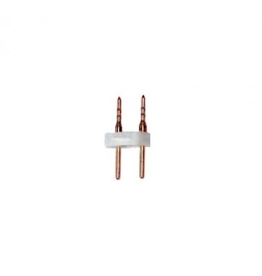 Unión conector 2 Pin Tira 220V. 14W Monocolor. Corte 20 cm.