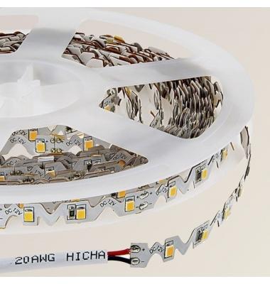 Tira LED Contorno. 12W/m.12VDC. SMD2835. Carrete 5 metros. 120 LEDs/m. Interior-IP20