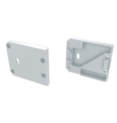 Tapa Lateral Derecha Abierta de Aluminio, Perfil STUDIO