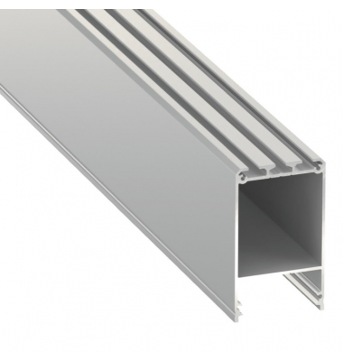 Perfil Aluminio Infinity de 2 metros. Hasta 3 Tiras LED de 10mm