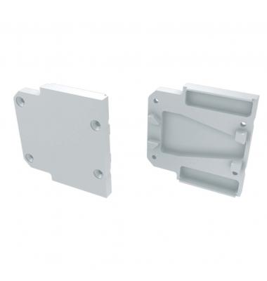 Tapa Lateral Cerrada de Aluminio, Perfil HALL