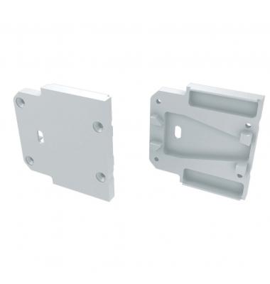 Tapa Lateral Abierta de Aluminio, Perfil HALL