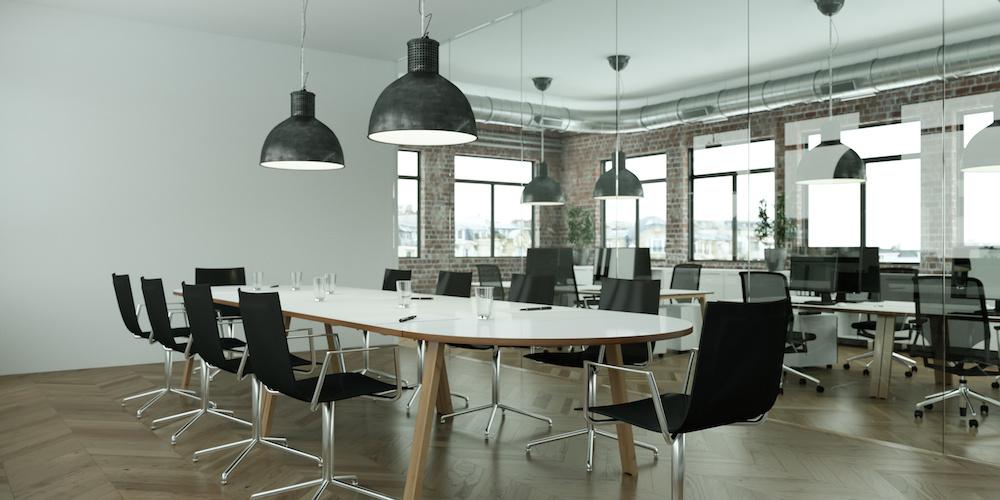 iluminación led para oficinas