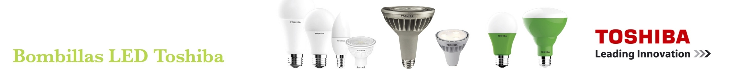 Bombillas y Tubos LED Toshiba