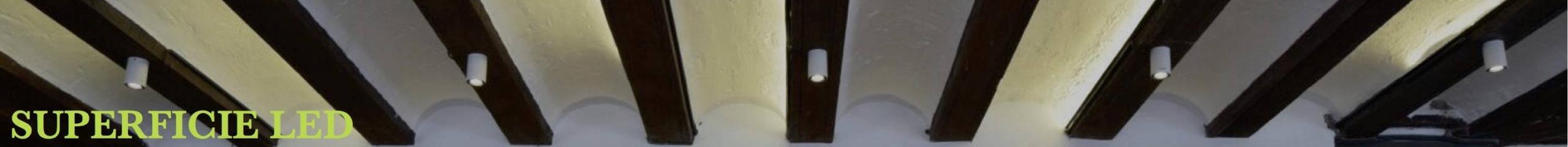 Focos-Plafones Superficie LED