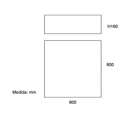 Dimensiones Plafón