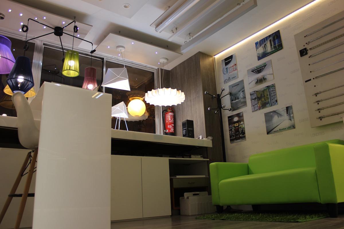 Fachada Exposición EcoLuz LED
