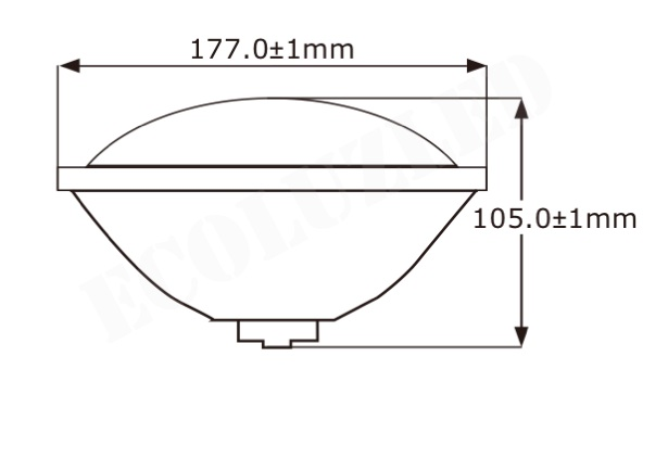 Dimensiones PAR56 LED