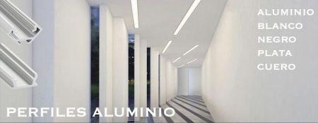 Perfiles Aluminio LED Ecoluzled