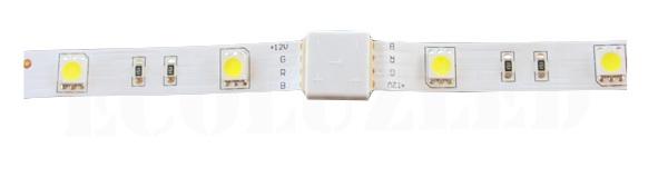 Unión conector 2 tiras RGB