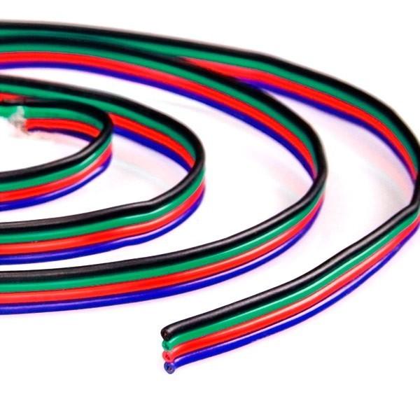 Cable 4 hilos RGB