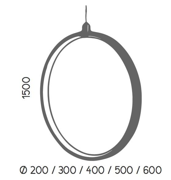 Dimensiones Colgante